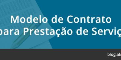 Modelo de contrato para Prestação de Serviços