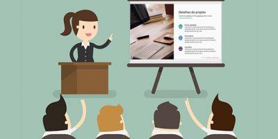 Apresentação de empresa em PowerPoint (baixe grátis: ppt e pptx)