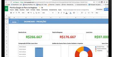 Planilha de Plano de Negócios em Excel (baixe o modelo)