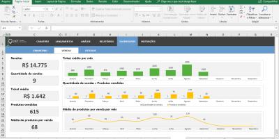 Planilha de Controle de Estoque em Excel